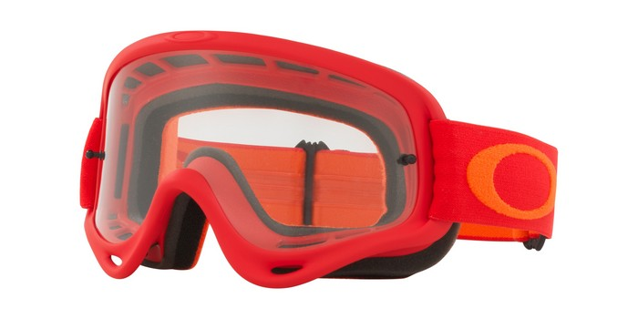 4fd897fb06a OAKLEY O FRAME GOGGLE FLO REDORANGE CLEAR LENS – Stephen Russell ...
